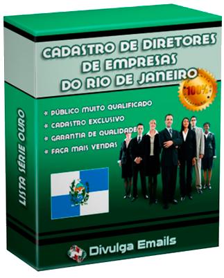 Emails lista empresários do Rio de Janeiro