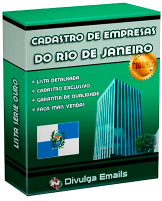 E-mails de empresas do Rio de Janeiro